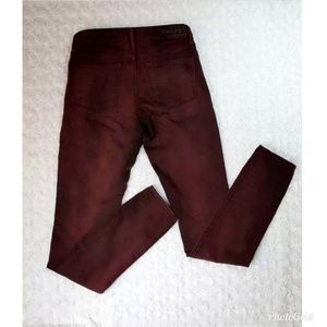 Articles of Society MYA Deep Red Skinny Jeans